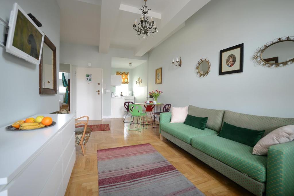 Appartement Crystal Suites, appartement en location courte durée à Cracovie.