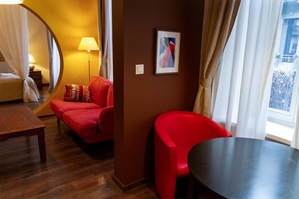 Lounge apparthotel, appartement en location courte durée à Cracovie.