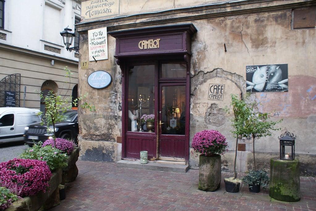 Café Loch Camelot à Cracovie.