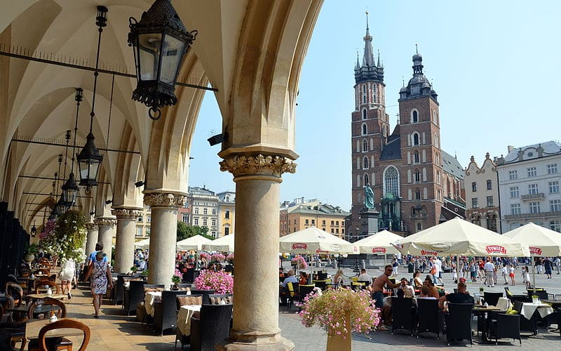 Vieille ville de Cracovie : Le charmant centre historique