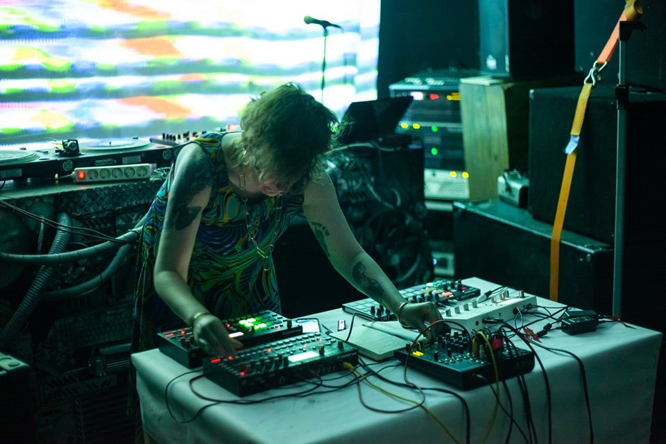 Soirée electro/techno au Warsztat à Cracovie.