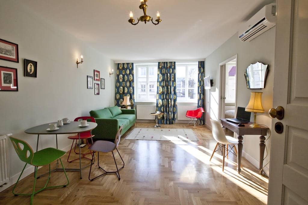 > Appartement en location à Cracovie : Crystal suites Helena.