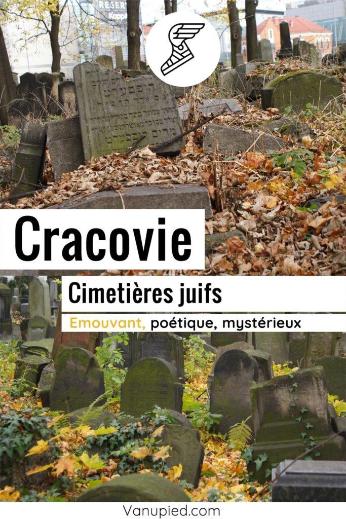 Nouveau cimetière juif de Cracovie