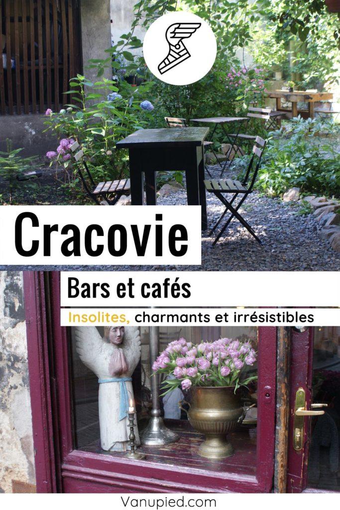 Bars et cafés de Cracovie