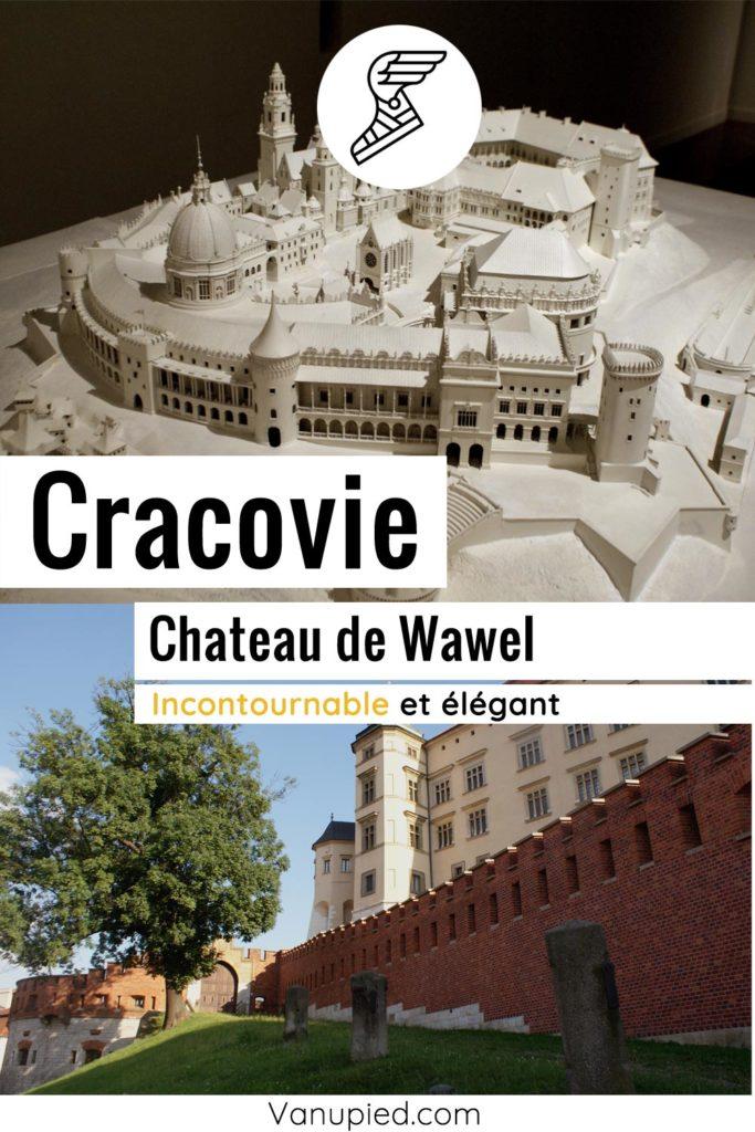 Wawel, chateau de Cracovie