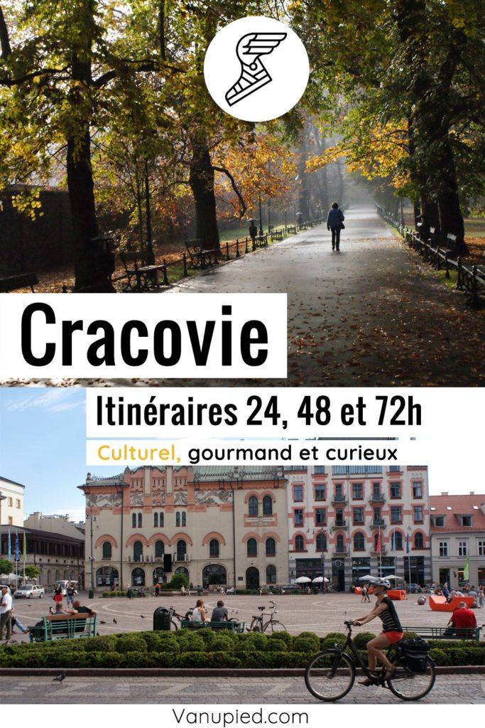 Itinéraires pour visiter Cracovie en 1, 2 ou 3 jours