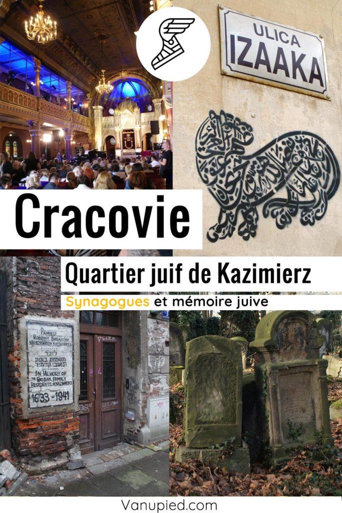 Kazimierz, l'ancien quartier juif de Cracovie