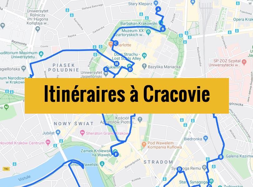 Itinéraires pour visiter Cracovie en Pologne pendant un week-end de 2, 3 jours ou plus.