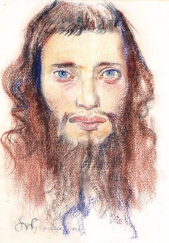 """""""Portrait d'un Juif"""" de Wyspianski au Musée National de Cracovie"""