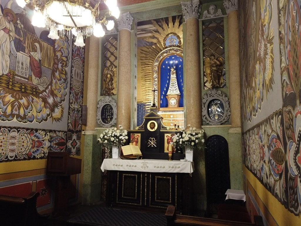 Chapelle de Lorette à l'église des Capucins de Cracovie.