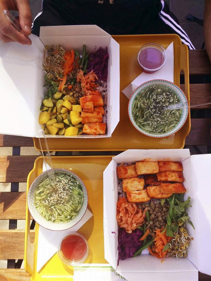 Fast food coréen à Cracovie avec l'Oriental Spoon.