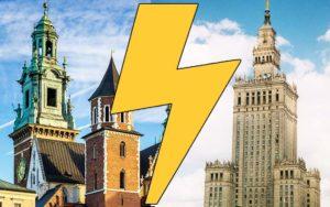 Cracovie ou Varsovie ? 10 points pour vous aider à choisir