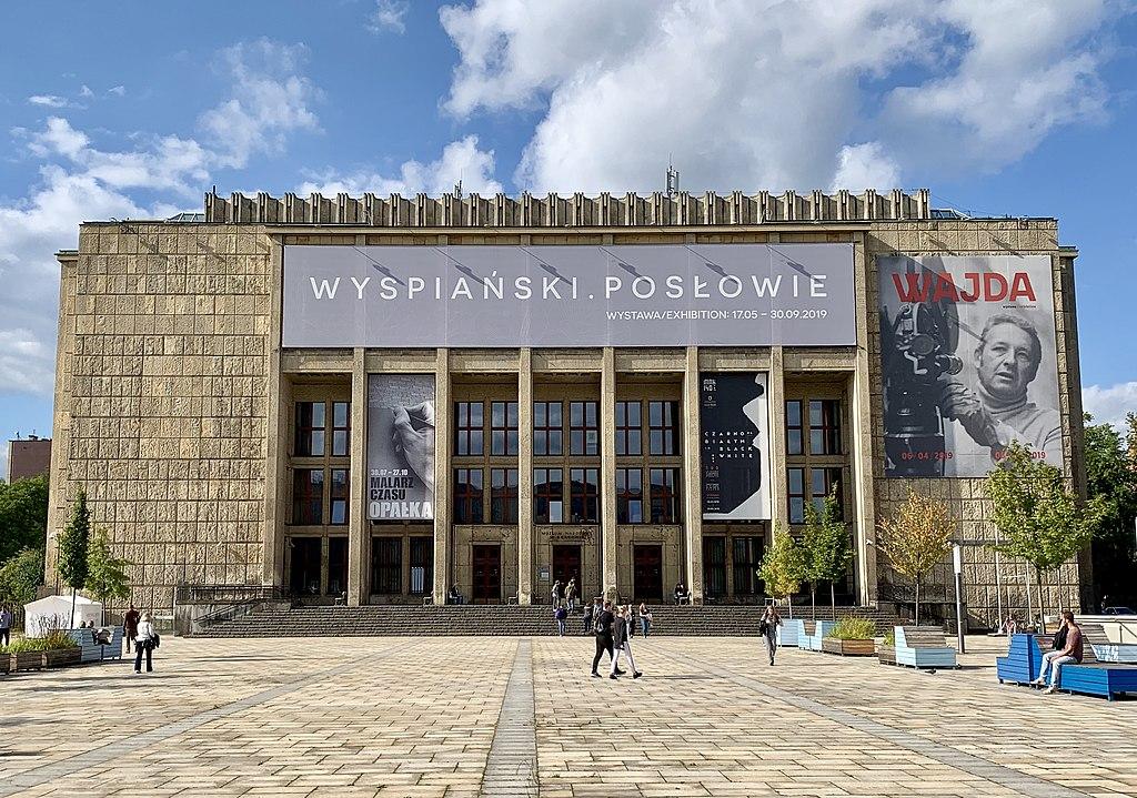 Façade du Musée National de Cracovie. Photo de Kgbo