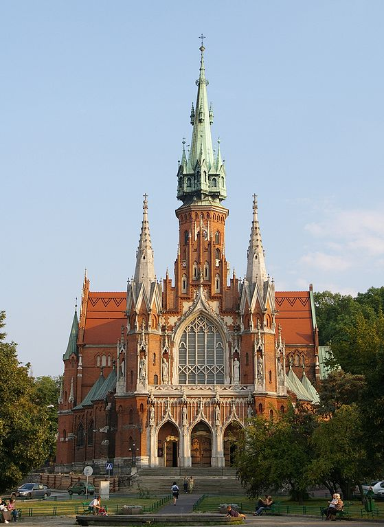 Eglise Saint Joseph dans le quartier de Podgorze à Cracovie - Photo de Jakub Halun