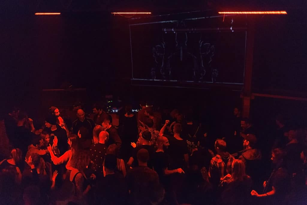 Club techno au STK47 à Cracovie.