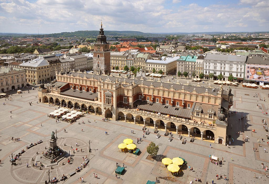 Rynek de Cracovie, l'incontournable place du marché [Vieille ville]