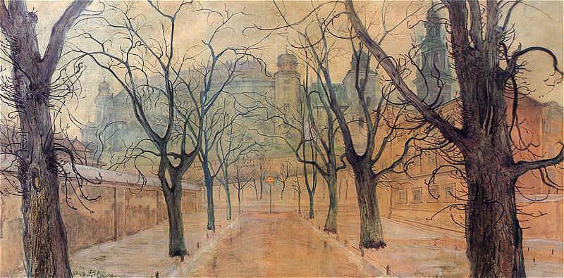 Parc des Planty à Cracovie de Stanisław Wyspiański (1894).