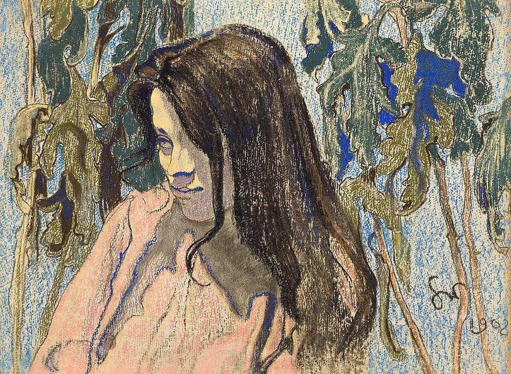 Portrait de Maria Pareńska de Stanisław Wyspiański (1902).