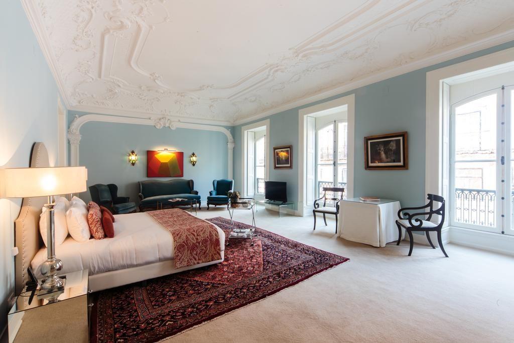 Dans l'hôtel de charme Dear Lisbon Palace Chiado à Lisbonne.