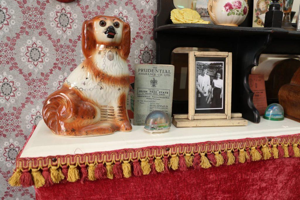 Musée de la vie quotidienne au 14 Henrietta Street à Dublin.