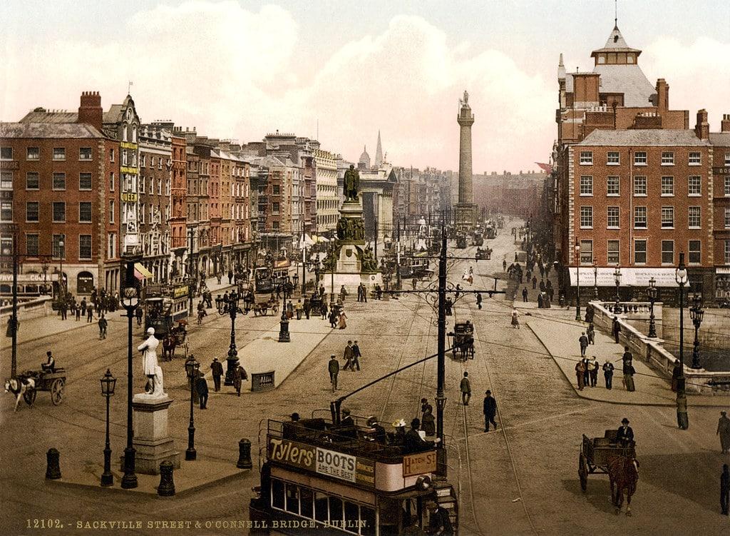 Dublin en 1900.