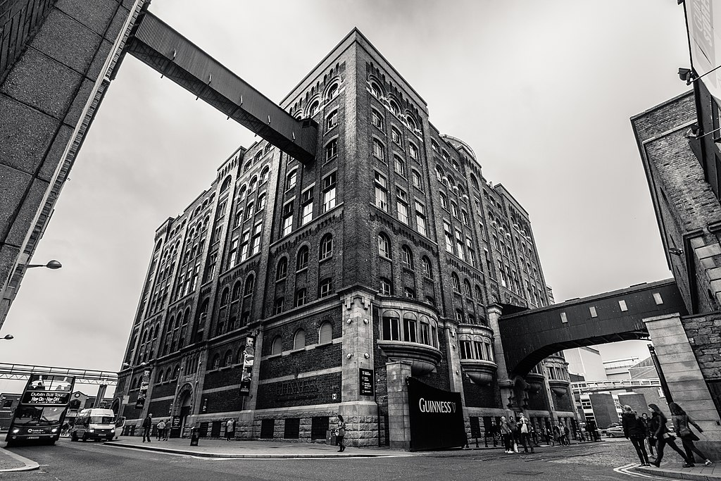 Guinness Storehouse à Dublin - Photo de Hernán Piñera