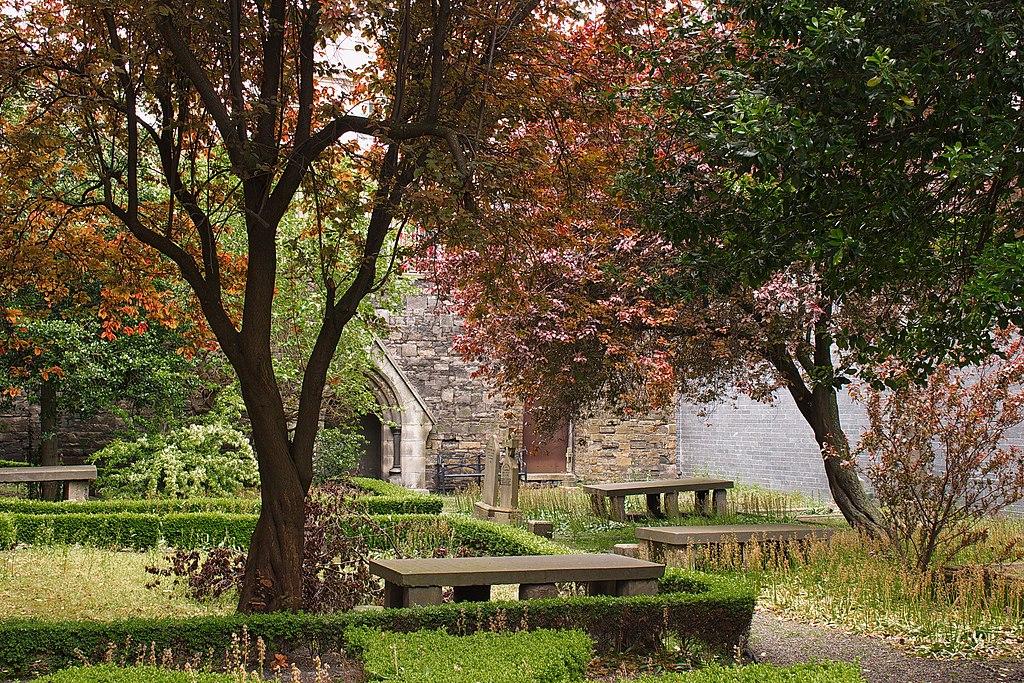Cimetière Huguenot de Dublin - Photo de Robert Linsdell