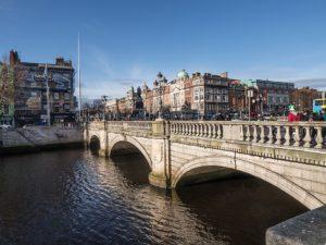Quartier O'Connell à Dublin : Rive nord de la Liffey