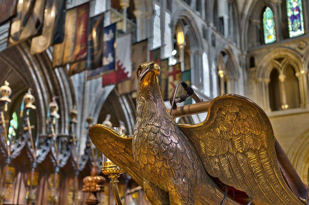 Dans la cathédrale St Patrick à Dublin - photo de Miguel Mendez