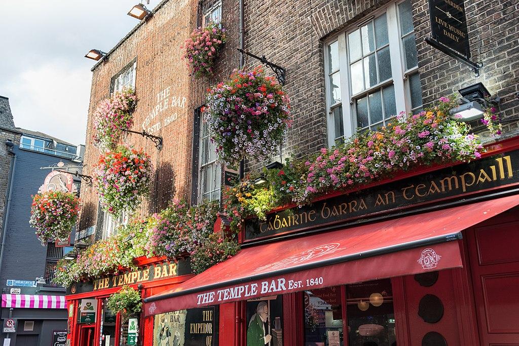Institution The Temple Bar à Dublin - Photo de Giorgio Galeotti