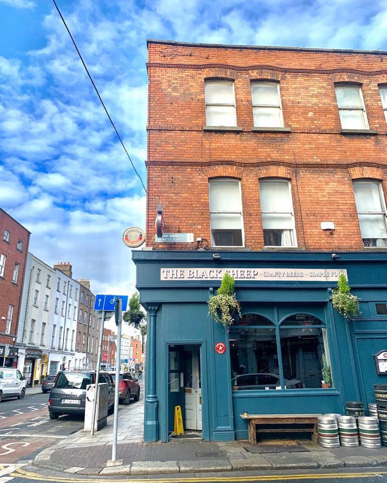 Bar à bières Blacksheep à Dublin.