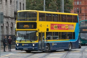 Transport en commun à Dublin : Bus, tramway, train