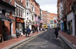 Quartier du centre de Dublin : Coeur du poulet