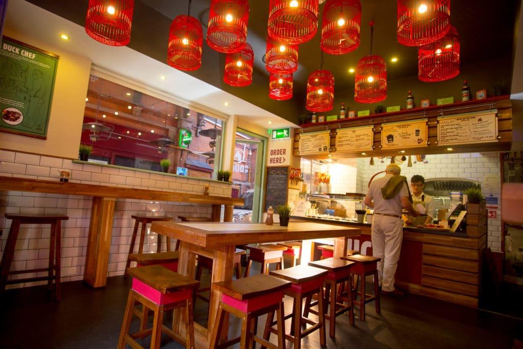 Restaurant hong kongais à Dublin.