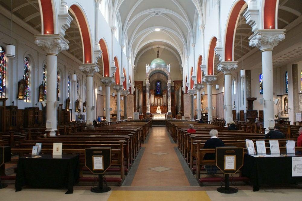 Eglise Whitefriar Street Church à Dublin