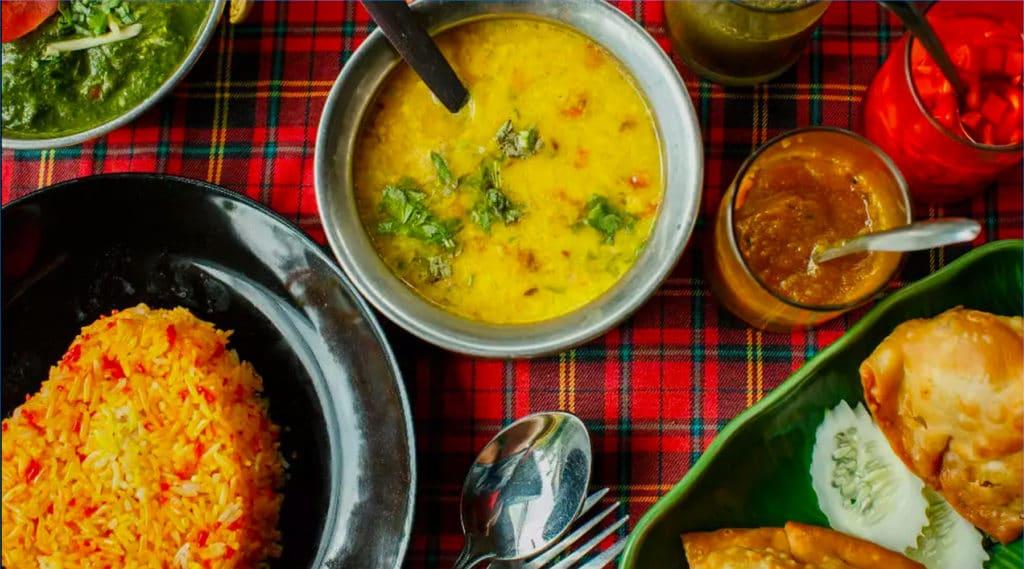 Govinda, restaurant végétarien d'inspiration indienne à Dublin.