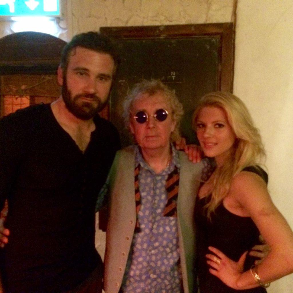 Bar Hacienda à Dublin avec deux acteurs de la série Vikings, Rollo et Lagertha !