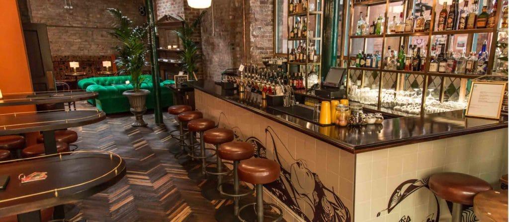 Idlewild, bar américain des années 1950 à Dublin.