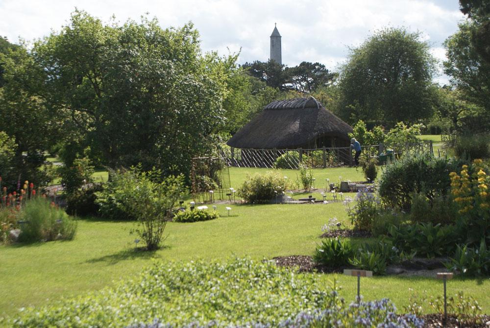 Maison viking du jardin botanique de Dublin