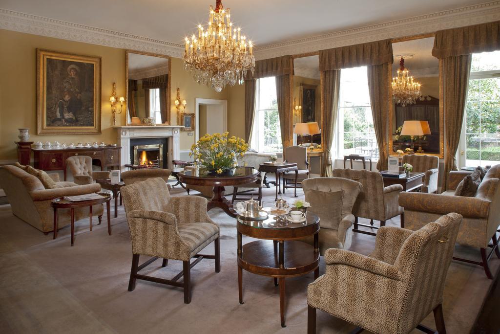 Hôtel de luxe au Merrion hotel à Dublin.