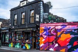 Quartier de Portobello à Dublin : Coin hipster et arty