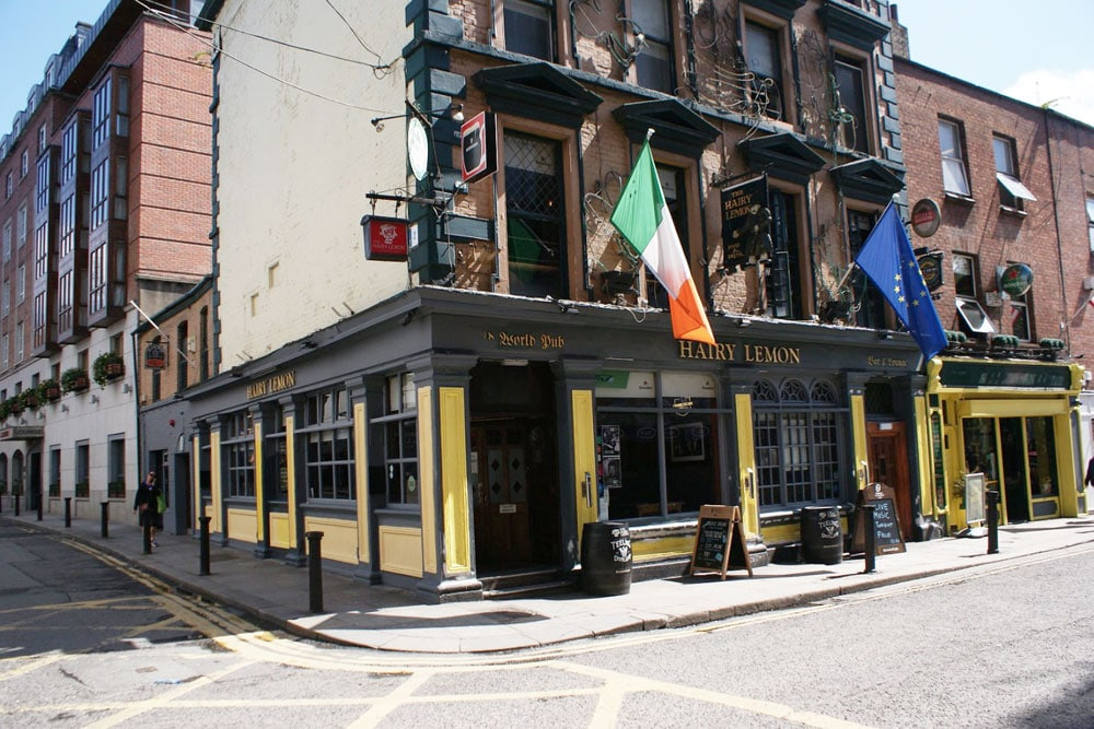 Pub Hairy Lemon à Dublin.