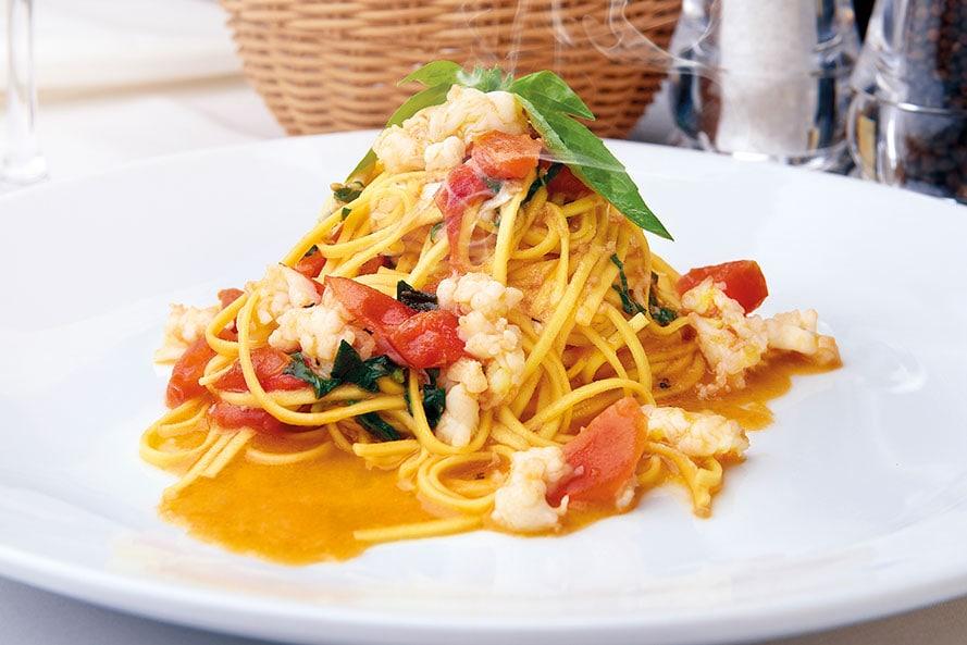 Restaurant italien Rosa Madre à Dublin.