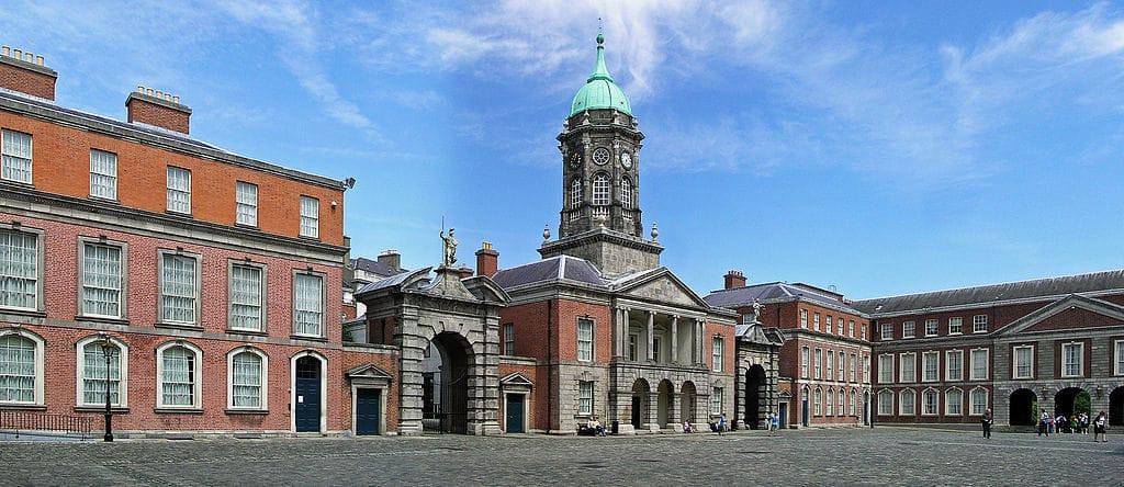 Cour intérieure du Chateau de Dublin - Photo de Donaldytong