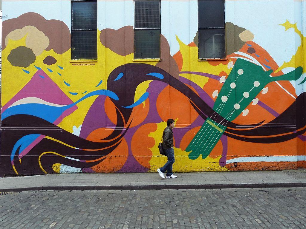 Street art dans le quartier de Temple bar à Dublin - Photo de Ralf Houven