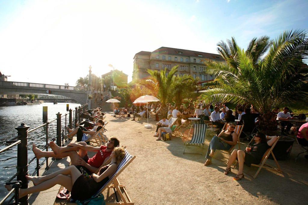 Strand bar n°1, bar de plage à Berlin [Mitte]