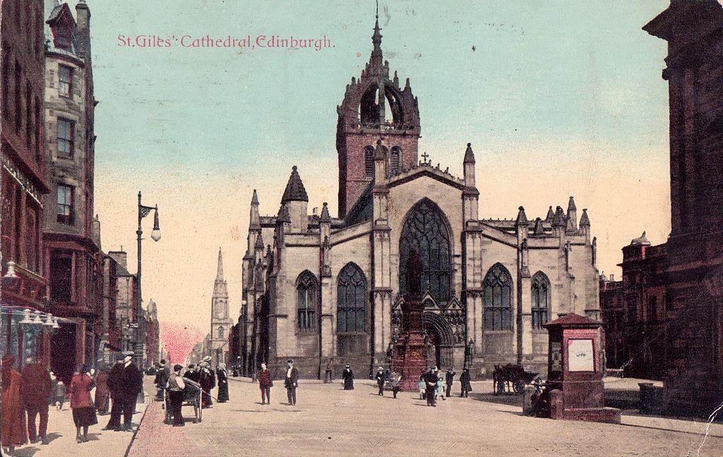Cathédrale Saint-Gilles à Edimbourg : Majesté gothique [Old Town]