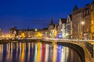 Quartier de Leith à Edimbourg : Ancien port, nouveau ventre
