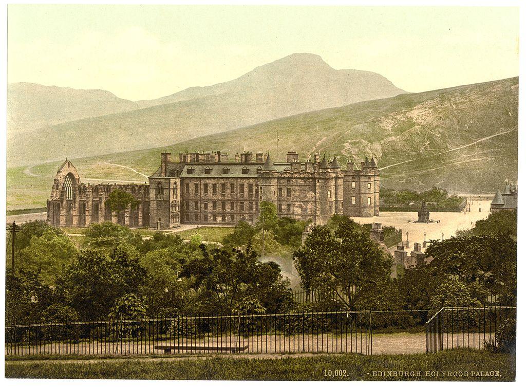 Palais de Holyrood à Edimbourg, La résidence royale [Old Town]