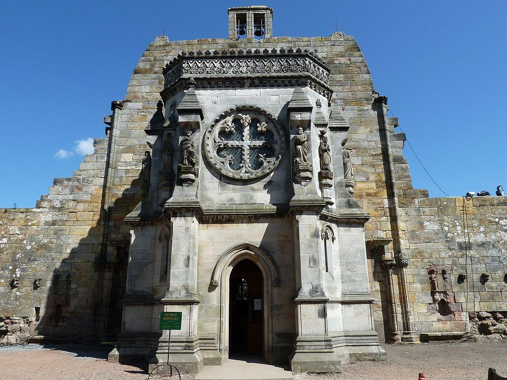 Mystérieuse chapelle de Rosslyn près d'Edimbourg